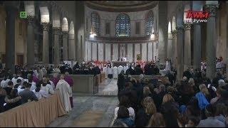 Liturgia Środy Popielcowej z Watykanu