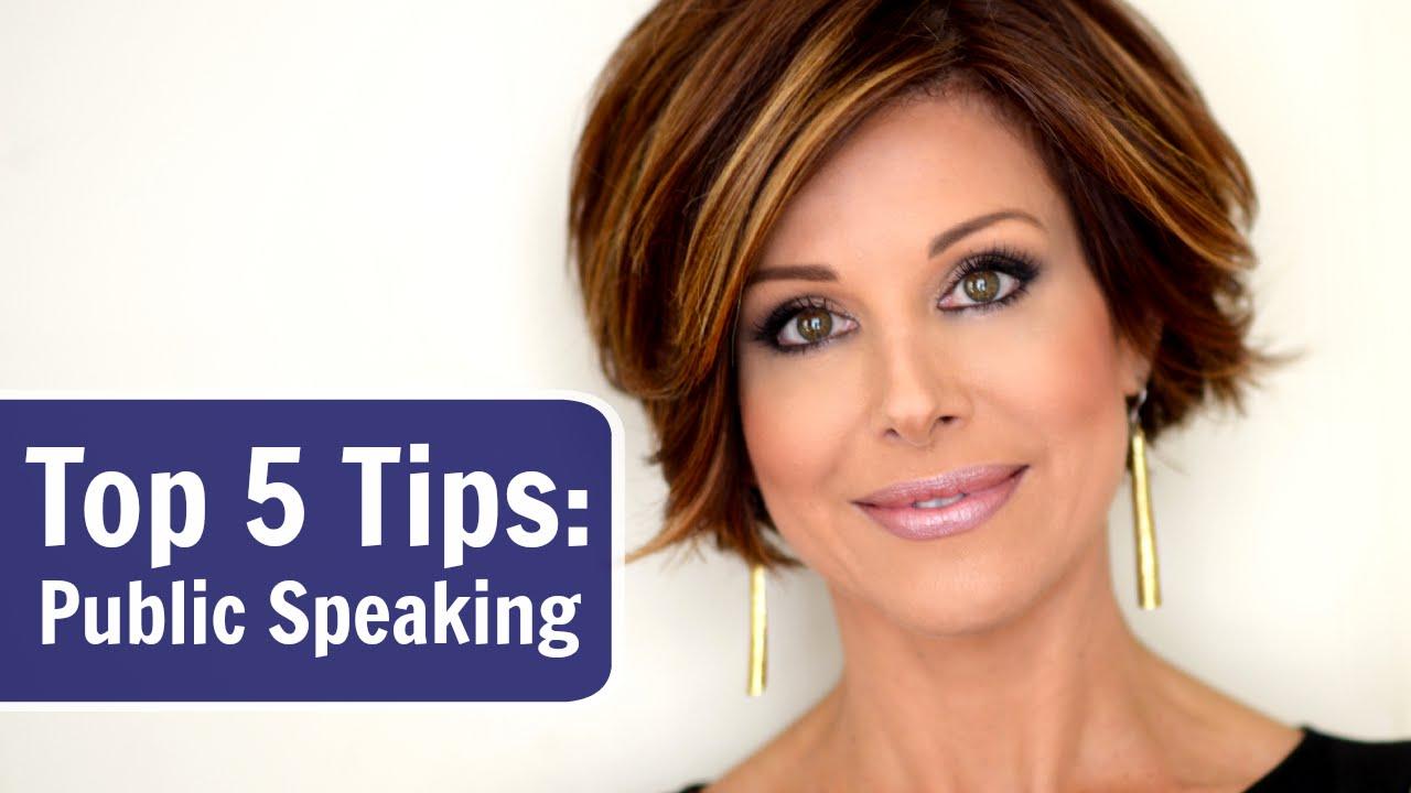 My Top 5 Public Speaking Tips - YouTube
