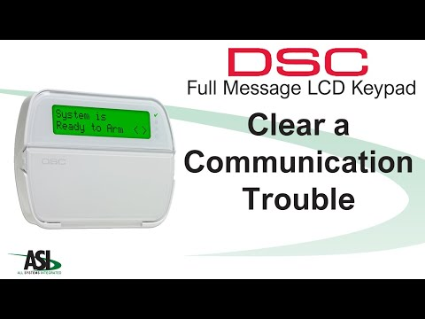Clearing A Communication Trouble On A Full English Keypad