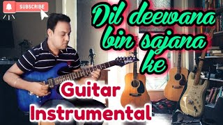 Dil Deewana(Film : Maine Pyaar Kiya)Guitar Rejuvenation With Karaoke Track