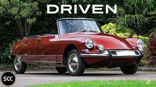 CITROËN ID/DS 19 Cabriolet Chapron '62 - Modest test drive | SCC TV