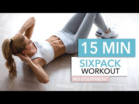 15 MIN SIXPACK WORKOUT intense ab workout / No Equipment I Pamela Reif