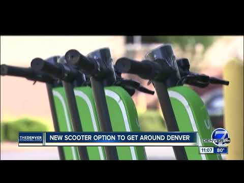 Lime Launches Dockless Electric Scooter Program In Denver