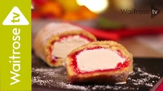 Rhubarb And Custard Arctic Roll | Waitrose