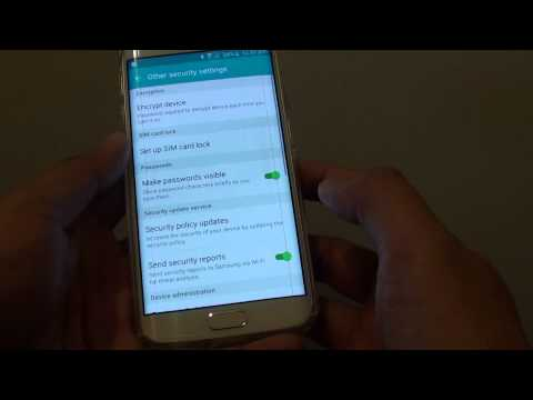 Samsung Galaxy S6 Edge How To Enable Disable Android Device Manager In Device Administra