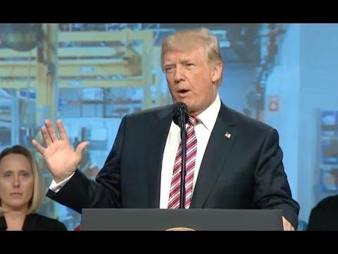 """Trump: Puerto Rico Aid Hampered By  """"Big Water, Ocean Water"""""""