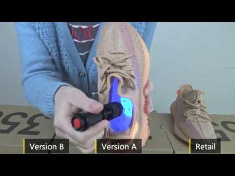 Adidas Yeezy 350 V2 Clay Real VS Fake