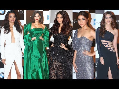 Aishwarya Rai, Sonam Kapoor, Anushka Sharma, Kriti Sanon At Vogue Women Of The Year Awards 2017