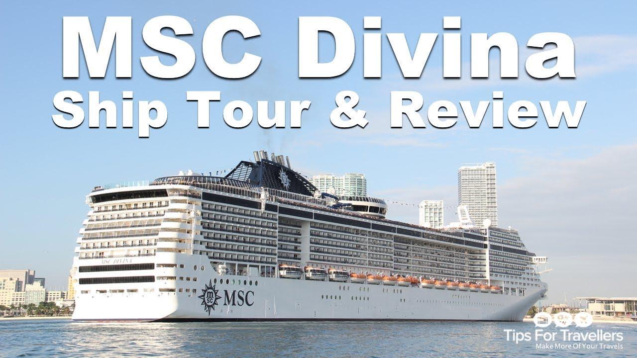 MSC Divina Ship Tour Sailing Caribbean Cruises Out Of Port Miami - Msc divina cruise ship