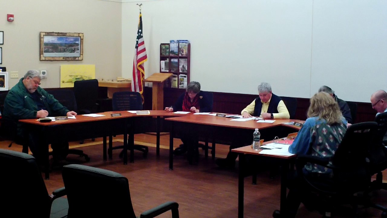 Dannemora Town Board Meeting  1-8-20