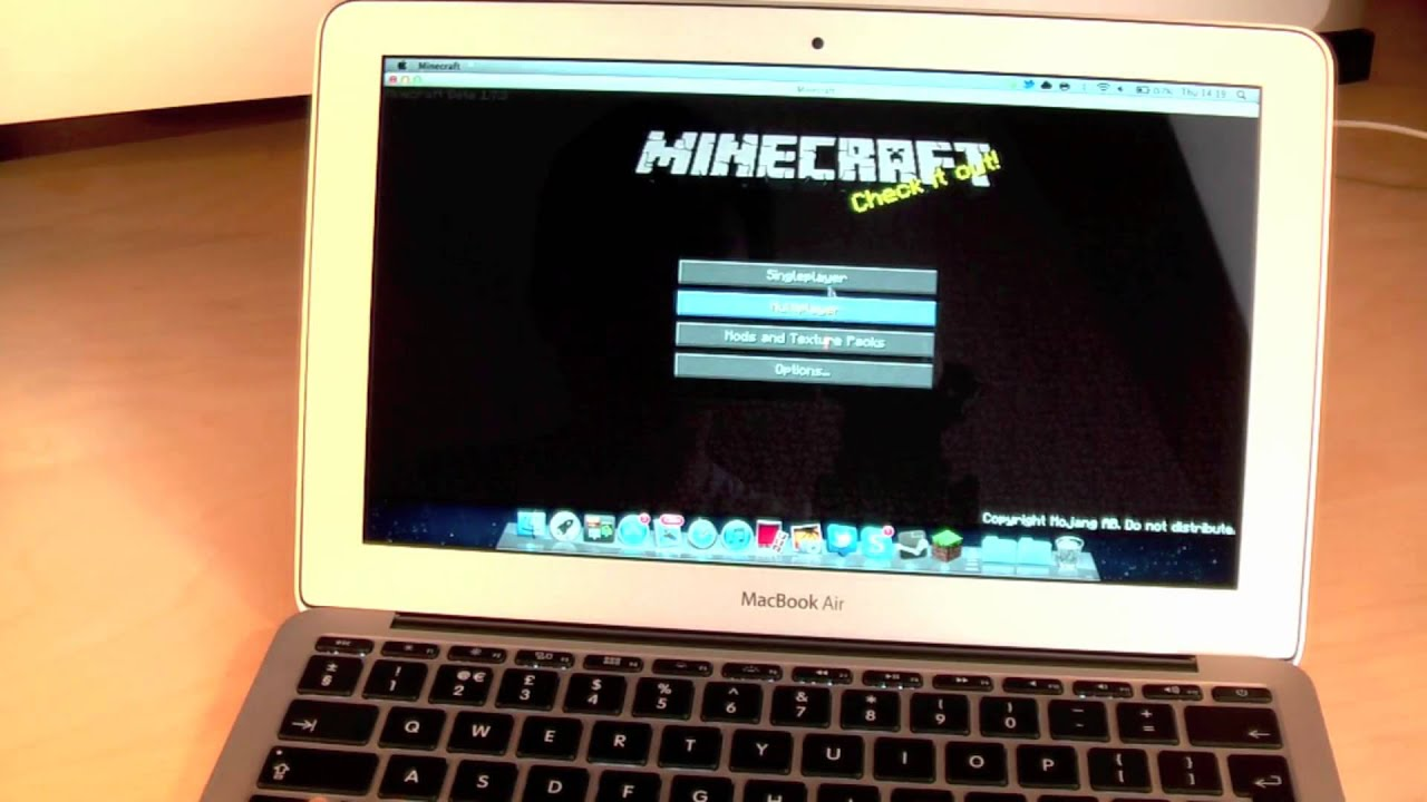 Gaming on the new Macbook Air 10 - Team Fortress 10 & Minecraft