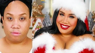 FULL COVERAGE HOLIDAY MAKEUP TUTORIAL | PatrickStarrr