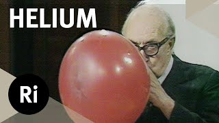 How Helium Changes our Voice - Christmas Lectures with Eric M Rogers