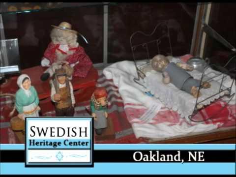 Oakland Nebraska's Swedish Heritage Center on Our Story's The Celebrities