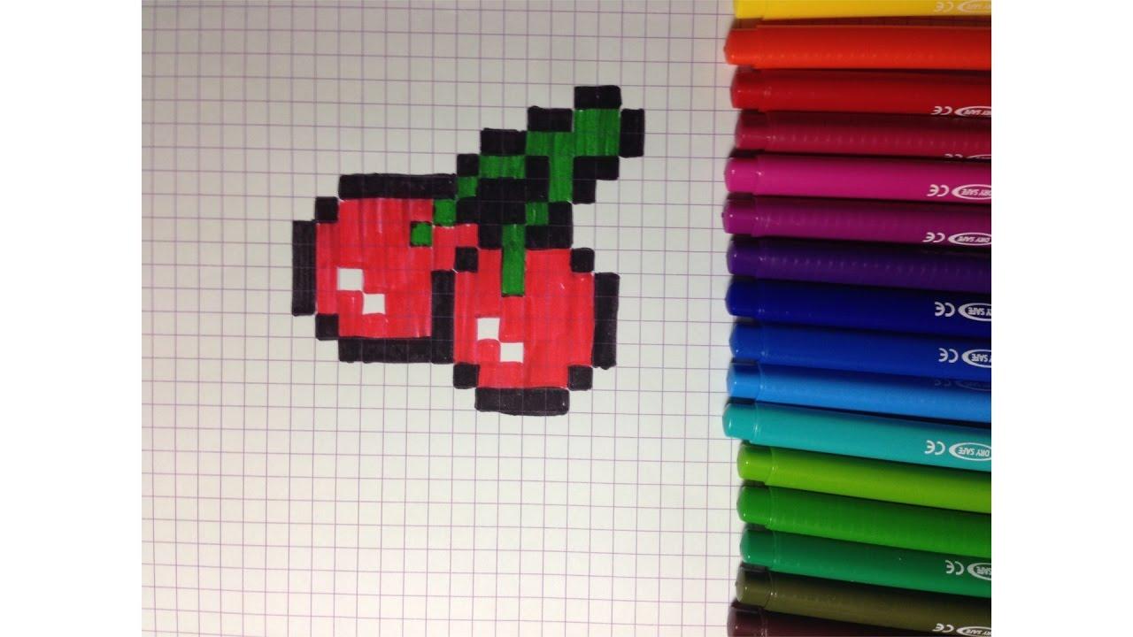 Comment Dessiner Une Cerise Pixel Art