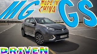 MG GS Made in China Review