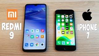 XIAOMI REDMI 9 VS IPHONE 7 - ЧТО ВЫГОДНЕЕ? НОВЫЙ АНДРОЙД ИЛИ СТАРЫЙ АЙФОН?