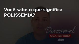 Devocional de Quarentena - 04/06 | Diogo Barbosa