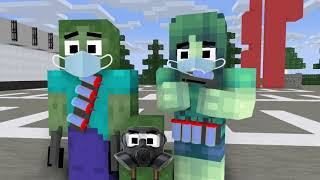 WHAT WILL HAPPEND IF ZOMBIE FAMILY FIGHT COVID-19??