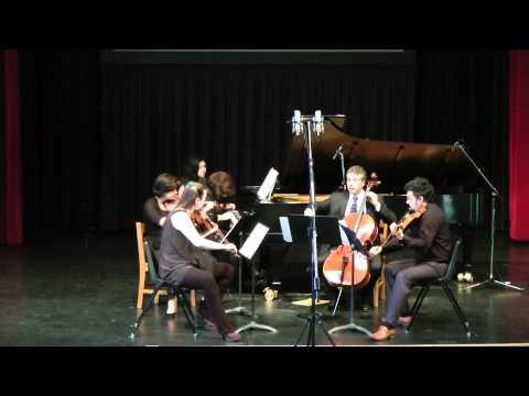 Schumann Piano Quintet:  Allegro brillante (1st movement)
