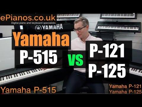 Yamaha P515 vs P125/P121 comparison review