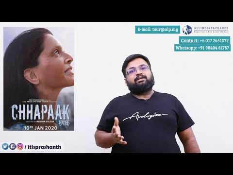 Chhapaak review by Prashanth