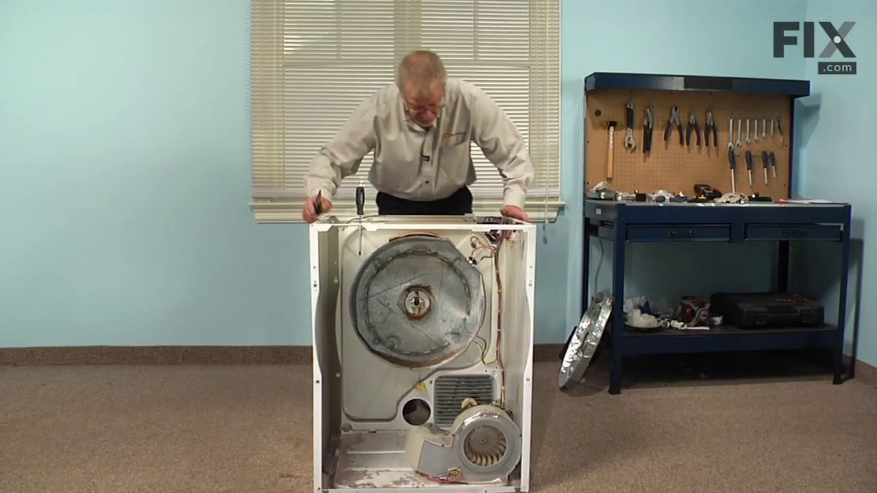 Frigidaire Dryer Repair How To Replace The Heating Element