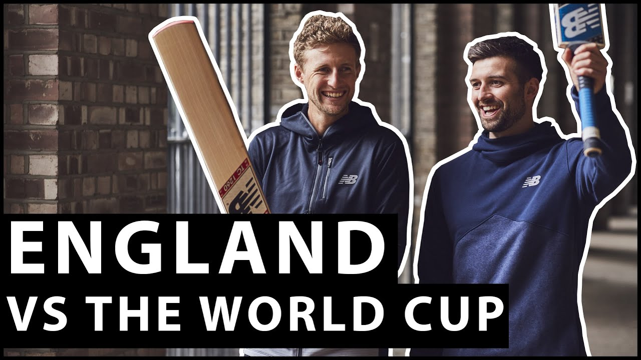 ENGLAND vs THE WORLD CUP   With Joe Root & Mark Wood