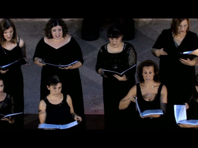 Personent Hodie (Dancing Day), J. Rutter. VokalArs. Dir.: Nuria Fernández Herranz.