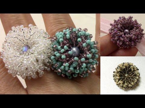Coral Flower Ring en Español , Duration 3543. MBAB Accesorios y Bisutería 51,534 views