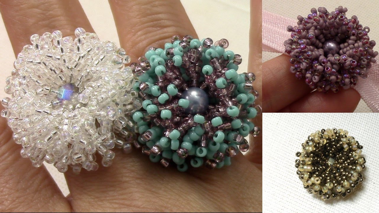 Coral Flower Ring en Español 2016,09,23