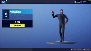 Fortnite Fusswahnsinn Tanz - Crazy Feet Dance Emote 500 Vbucks Itemshop 13.01.2019 EpicGames