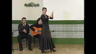 """How to dance """"Buleria de Jerez"""" - Metodo de Baile Flamenco - from DVD メルセデス・ルイス「ブレリア・デ・ヘレス」教則"""