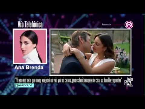 Javier Poza entrevista a Ana Brenda Contreras
