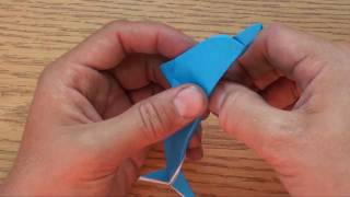 How to Fold an Origami Dolphin by Jeremy Shafer