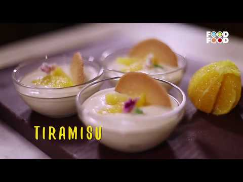 Tiramisu | Great Chefs Great Recipes | Chef Anurag Bhartwal | FoodFood