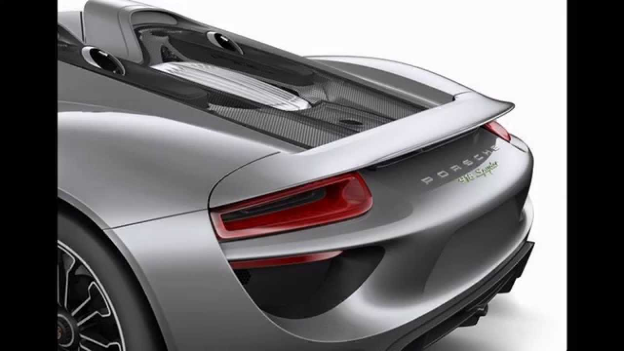 porsche 918 spyder 2017 luxurious interior exterior design