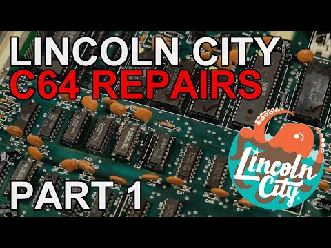 Lincoln City C64 Testing And Repairs - Part 1