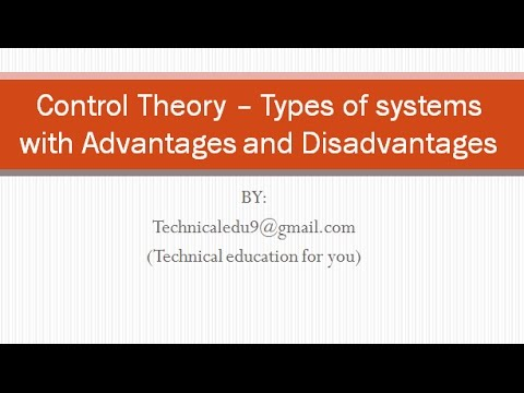 Control theory and it