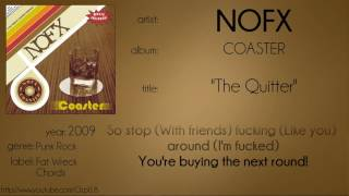 NOFX - The Quitter (synced lyrics)
