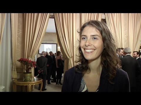 Alyette Tritsch (Kiron France) reçoit le Prix Erignac 2017