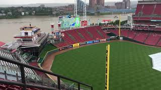 A view of Great American Ballpark