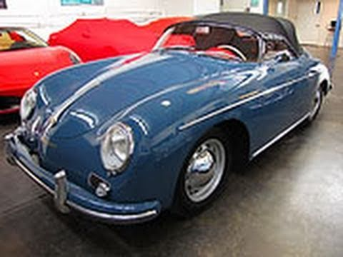 Legendary 1958 Porsche Speedster 1600n For Sale Youtube