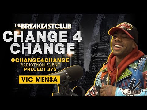 Vic Mensa Opens Up About His Mental Health Struggles On The Breakfast Club