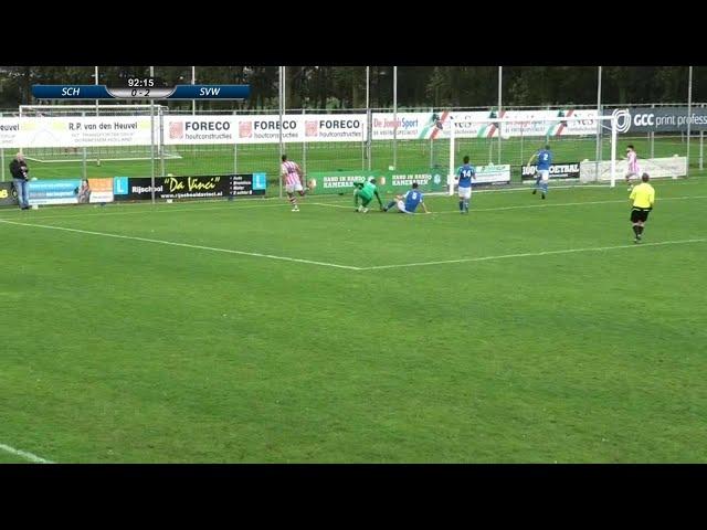 Derby Schelluinen  -  SVW  0 - 3