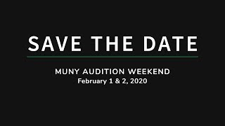 Auditions 2020 | The Muny