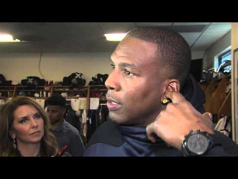 Antonio Gates on Sideline Exchange with Philip Rivers - San Diego Chargers