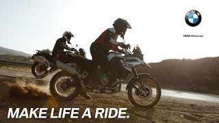 BMW F 850 GS: Overcoming all obstacles.