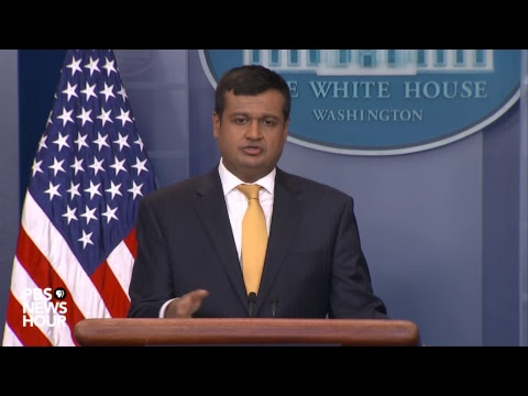 WATCH: Raj Shah, Kevin Hassett hold White House news briefin