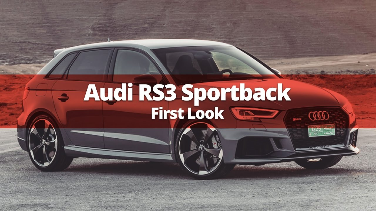 2017 audi rs3 sportback in nardo grey first look youtube. Black Bedroom Furniture Sets. Home Design Ideas